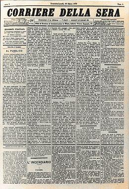 Corriere della sera wikipedia for Corriere casa