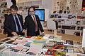 Coscia y Hamawi en la inauguración del Salón del Libro de París 2014 (13298916334).jpg