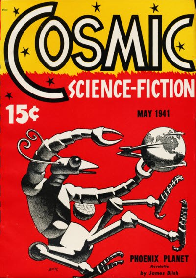 Cosmic Science-Fiction May 1941