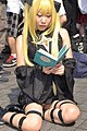 Cosplayer of Golden Darkness from To Love-Ru at Comic Market 82 20120821.jpg