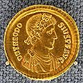 Costantinopoli, teodosio magno, solido, 388-392 dc.JPG