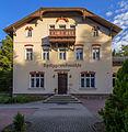 Coswig Am Spitzberg 2 Gasthaus Spitzgrundmühle Südansicht VII.jpg