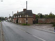 Cottages at the entrance to Melancholy Lane, Stoborough - geograph.org.uk - 268251.jpg