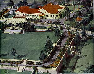 Cottesloe Civic Centre - Aerial View of the Cottesloe Civic Centre 1950