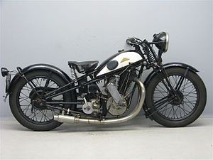 Blackburne (motorcycles) - Cotton M25 Blackburne 500 cc OHV 1928
