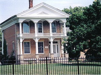 Count's House - The south facade of the Count's House.