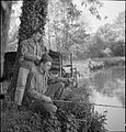 Country Club For US Airmen- Rest and Recuperation in the English Countryside, Stanbridge Earls, Romsey, Hampshire, 1943 D14524.jpg
