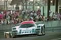 Courage C32LM - Lionel Robert, Pascal Fabre & Pierre-Henri Raphanel exits the Esses at the 1994 Le Mans (31596820800).jpg