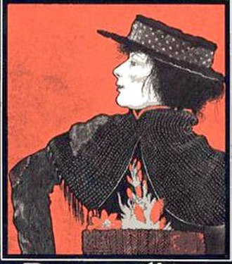 Pygmalion (play) - Illustration depicting Mrs. Patrick Campbell as Eliza Doolittle.