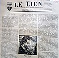 Cover page of the October 1943 issue of Le Lien, a monthly published by the FPCL.jpg