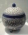 Covered bowl, Richard Riemerschmid, Firma Reinhold Merkelbach, Grenzhausen, 1902, stoneware - Hessisches Landesmuseum Darmstadt - Darmstadt, Germany - DSC00988.jpg