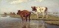 Cows on Saltholm (Theodor Philipsen) - Nationalmuseum - 19755.tif