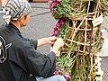 Craftsman dress chrysanthemum on doll.jpg