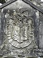 Crest of Arms, Derryloran Old Church - geograph.org.uk - 1625193.jpg