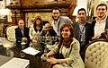 Cristina Fernández con el primer ahijado presidencial judío.jpg