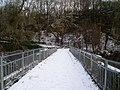 Crossing Dawsholm Bridge - geograph.org.uk - 1627172.jpg