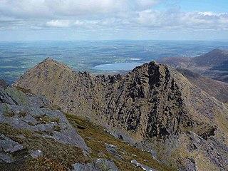 Cruach Mhór Mountain in Kerry, Ireland