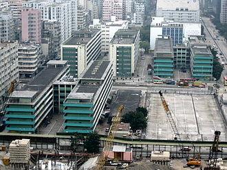 Public factory estates in Hong Kong - Cheung Sha Wan Factory Estate in 2003.