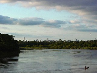 Cuiabá River river in Brazil