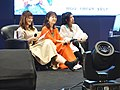 Cuisine Dimension voice actresses sitting on the sofa 20190414d.jpg