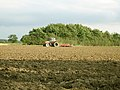 Cultivating behind Capon's Farm, Oakley - geograph.org.uk - 547455.jpg