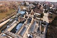 Curtea-domneasca-Targoviste-aerial-view