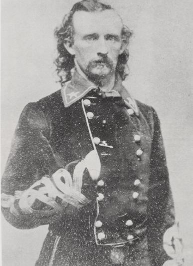 Custer BG Geo A in velvet ca 1864