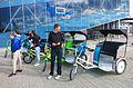 Cycle rickshaws in Tallinn.jpg
