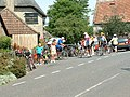 Cyclists at the Wise Man - geograph.org.uk - 20421.jpg
