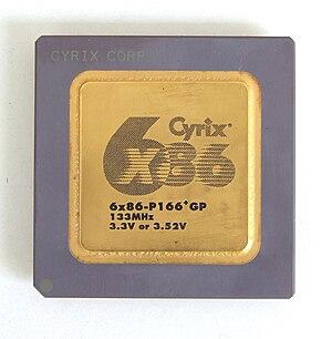 Cyrix - Cyrix 6x86-P166.