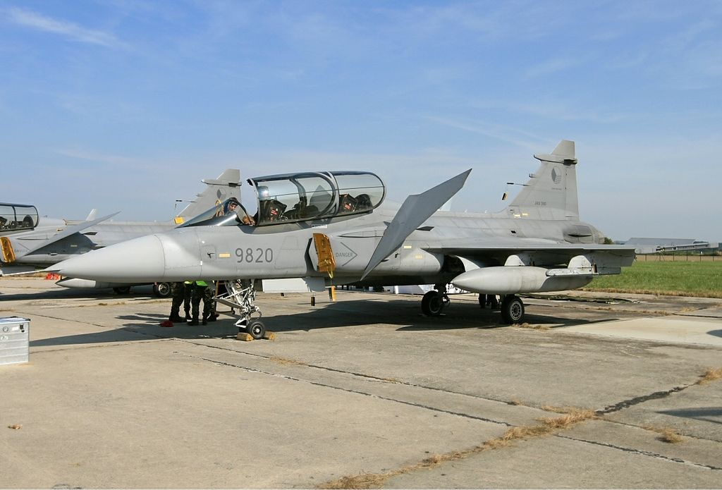 File:Czech Air Force Saab Gripen Lebeda jpg - Wikimedia Commons