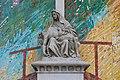 Czeladz St. Stanislaus church Pieta mosaic 2021.jpg