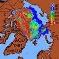 File:Dérive et diminution de la vieille glace Arctique.ogv