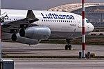 D-AIFC Lufthansa Airbus A340-313 Line up on Rwy18 departing to Riyadh (OERK) @ Frankfurt - Rhein-Main International (EDDF) - 08.04.2014 (17258614395).jpg