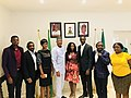 DG NTDC Folorunsho Coker with Google Nigeria training consultants.jpg