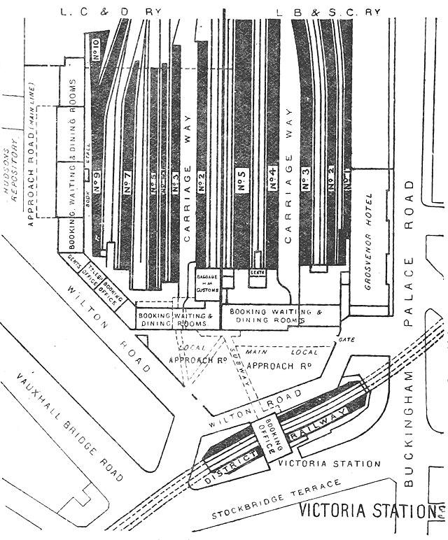 station victoria londres