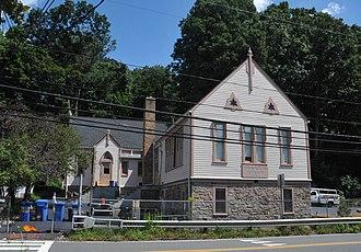 Stockton, New Jersey - District No. 98 Schoolhouse