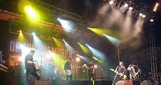Dropkick Murphys American Celtic-punk band