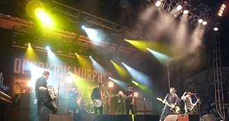 Dropkick Murphys - Dropkick Murphys at ShamrockFest in 2011