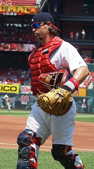 Jason LaRue - LaRue with the St. Louis Cardinals