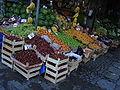 DSC04810 Istanbul - Fruttivendolo a Eyüp - Foto G. Dall'Orto 30-5-2006.jpg