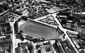Dælenenga idrettspark - Aerial view from 1951