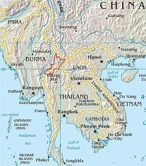 Daen Lao Range - Image: Daen Lao Range Southeast asia
