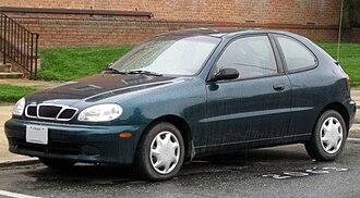 Daewoo Lanos - Daewoo Lanos hatchback (US)