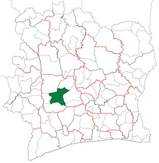 Daloa Department Department in Sassandra-Marahoué, Ivory Coast