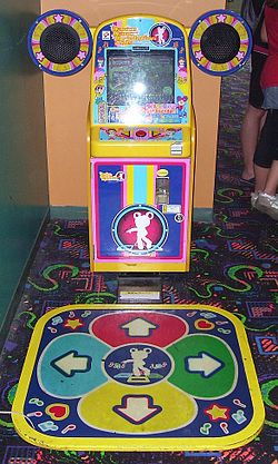 Dance Dance Revolution Kids arcade machine.jpg