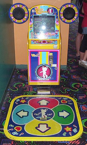 Dance Dance Revolution Solo - Dance Dance Revolution Kids adapts elements from Solo for a younger audience.