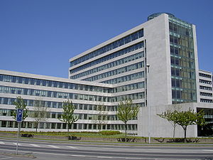 Danfoss - Danfoss headquarters in Nordborg, Denmark.