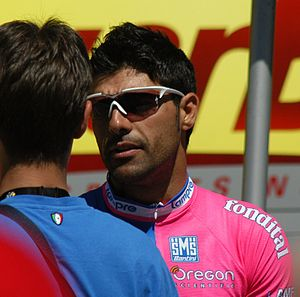 Danilo Napolitano - Napolitano at the 2007 Tour de France