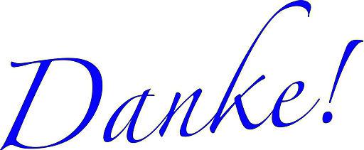 Danke blue